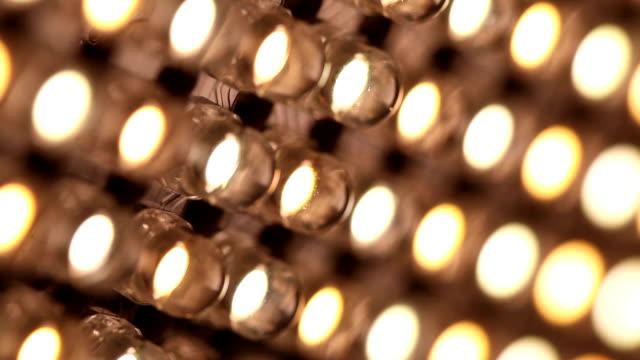 Montage: Led panel lights