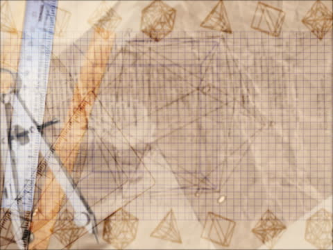 CU CGI Montage of geometric shapes and elements