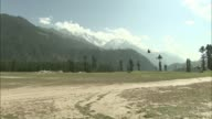 Montage of sweeping landscapes of Swat Valley in Pakistan