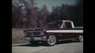 Montage: revue of 1965 Ford recreational vehicles