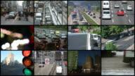 Montage-Verkehr