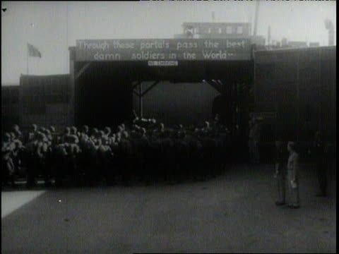 Montage WWII from Pearl Harbor to victory parade in NYC