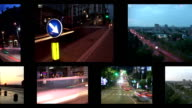 LOOP MONTAGE:Traffic