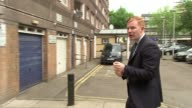 Family appeal for information Reporter to camera Detective Chief Inspector Andy Patridge interview SOT