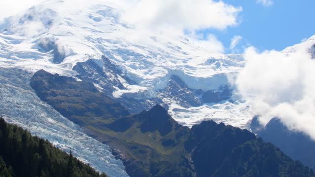 Montblanc Massif time lapse 4K