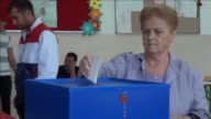 Montenegro voted Sunday to choose a government that will lead European Union entry talks for the tiny Balkans country with the ruling centreleft...