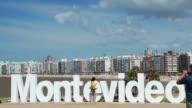 Montevideo monument, Kibon, Pocitos beach, Montevideo, Uruguay, 2015
