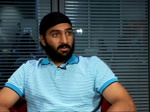 Monty Panesar interview Monty Panesar interview SOT On his cult status and excitement on cricket pitch / On taking his autograph book into the...