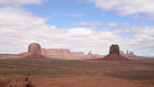 Monument Valley 4k timelapse of clouds