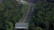 Monza Race Track  - Aerial View - Lombardy, Monza Brianza, Monza, Italy