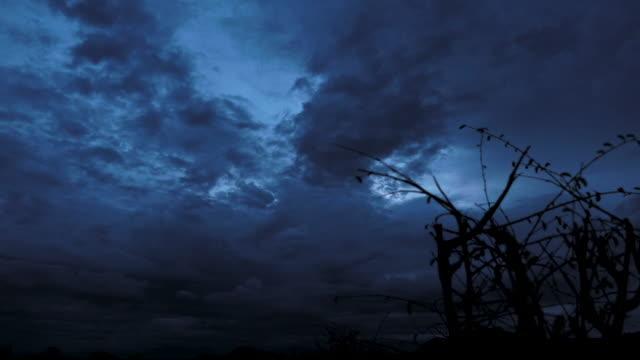 Moody Dark Sky Sunset