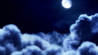 Moonlight Above the Clouds