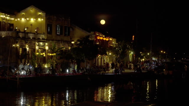 Moonrise over Hoi An