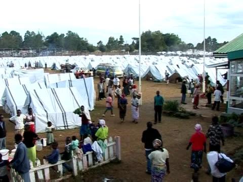 More than 1000 people have been killed and 300000 displaced in Kenya's postelection crisis Eldoret Kenya