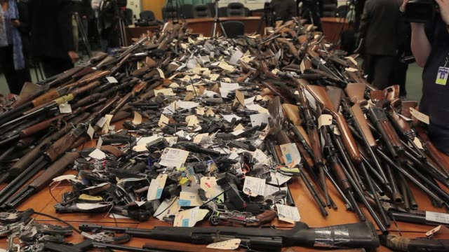 More than 1700 guns were turned in during a two day gun buyback throughout Essex County a cash for guns program thats part of nationwide efforts to...