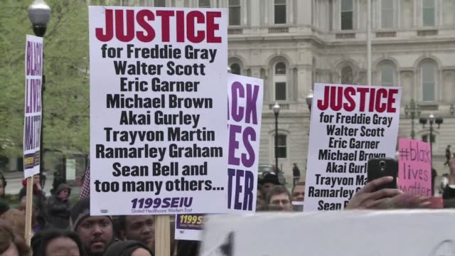 More than 200 protesters marched through downtown Baltimore on Thursday amid simmering anger over the latest death of a black male in the United...