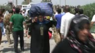 More than 2000 displaced Iraqis were able Wednesday to flee the conflict torn province of Anbar after the authorities opened a bridge that had been...