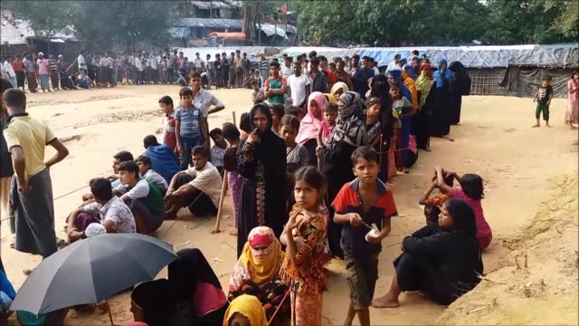 More than 40000 unaccompanied Rohingya children are in refugee camps in Bangladesh after fleeing Mynamar European Union Commissioner Christos...
