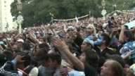 More than 50000 fans wearing Argentina colours poured into Plaza San Martin in Buenos Aires on Sunday to watch their footballing heroes lose 01 to...