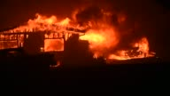 More than a dozen wildfires were raging across California on Monday forcing thousands of residents of the most populous US state to flee their homes
