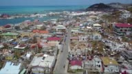 More than a week after Hurricane Irma swept through vast devestation is still apparent on the Caribbean island of St Martin with people having to...