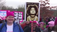 More than two million people flood the streets of Washington and other US cities and demonstrators around the world join in as women opposed to...