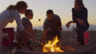 S'Mores at Sunset