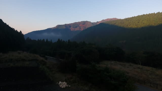 Morning in the mountain