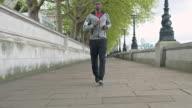 Morgenlauf in London