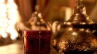 Moroccan or arabic  tea