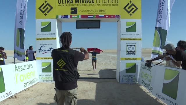 Morocco's Mohamed el Morabity won Tunisia's first ever ultra marathon on Saturday which saw 58 competitors race across a 100 kilometre course...