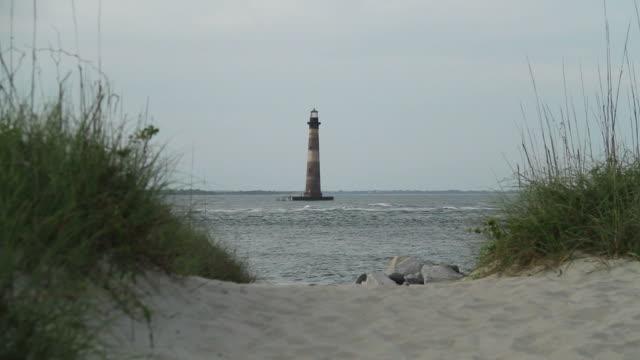 Leuchtturm auf Insel Morris