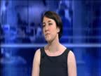 London GIR INT Pauline McCallion LIVE STUDIO interview SOT