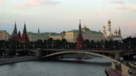 Moscow River with Kremlin in the background