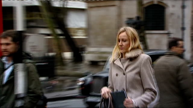 Mother who ran away with her son to prevent radiotherapy treatment appears in court ENGLAND London High Court EXT Various shots of Sally Roberts...