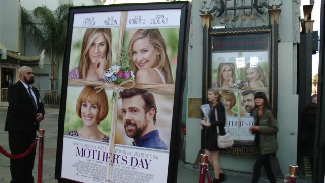 SIGNAGE 'Mother's Day' World Premiere at TCL Chinese Theatre on April 13 2016 in Hollywood California