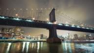 Motion control time lapse of Manhattan Bridge