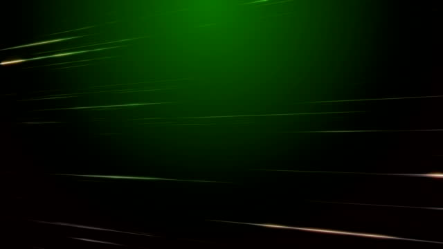 Motion Streaks Green Background Loopable