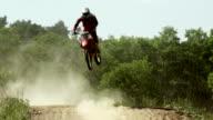 Piloti di Motocross su Traccia SLO MO