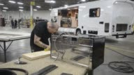 Motor Homes Mobile Home Trailers RV Manufacturing Nexus RV Manufacturing on February 08 2013 in Elkhart Indiana