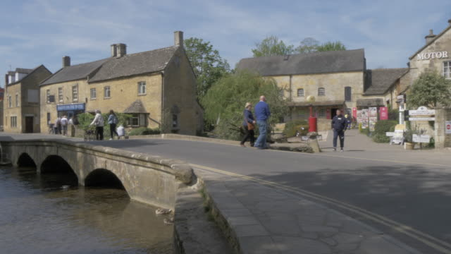 Motor Museum and River Windrush, Bourton on the Water, Cotswolds, Gloucestershire, England, United Kingdom, Europe