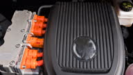 Motor of an electric car