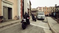 Motorcycle Chase Scene