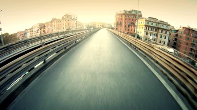 Motocicletta videocamera integrata a Roma