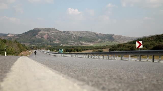Motocicletta passaggio