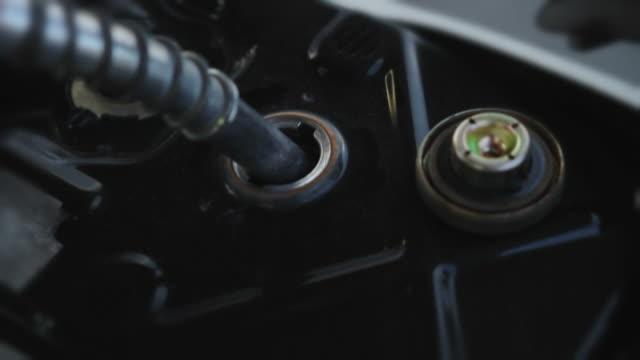 motorcycle refueling