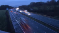 UK Autobahn in Timelapse-HD