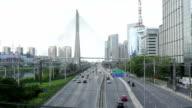 Autostrada con traffico-San Paolo