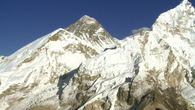 Mount Everest, Lhotse, and Nuptse.