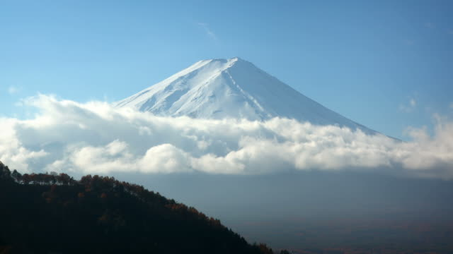 Mount Fuji Close Up